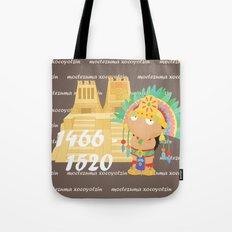 Moctezuma Xocoyotzin Tote Bag