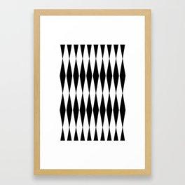 composition abstraite n°5 - mathéo Framed Art Print