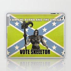 Vote Skeletor Laptop & iPad Skin