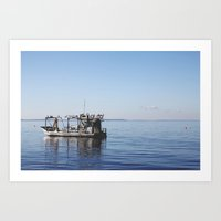 The Fisherman. Art Print