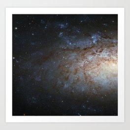 Spiral Galaxy NGC 3621 Art Print