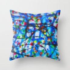 Lego: Jackson Pollock 1 Throw Pillow