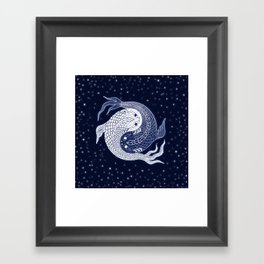 shuiwudao in space Framed Art Print