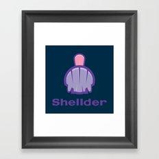 Shell(der) Framed Art Print