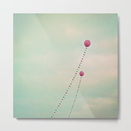 Whimsical Balloons Metal Print