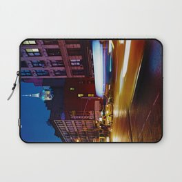 Taxi's Whizzing By Laptop Sleeve