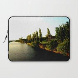 Thompson River @ Twilight Laptop Sleeve
