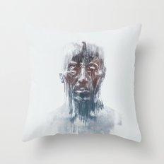 Portret 008 Throw Pillow