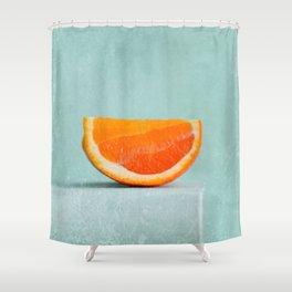summer in orange II Shower Curtain