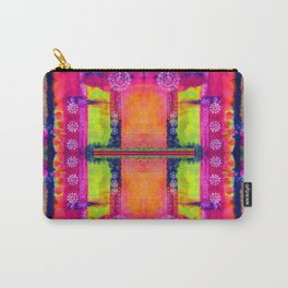 Indian Kaleidoscope Carry-All Pouch