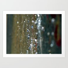 Hard Rain Art Print