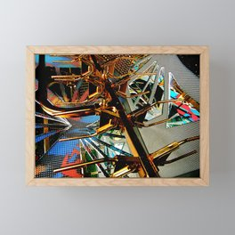 Finer spaces Framed Mini Art Print