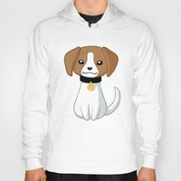 beagle Hoodies featuring Beagle by Freeminds