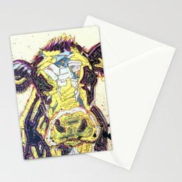 Paint03 - Sweetie Pie the Cow Stationery Cards