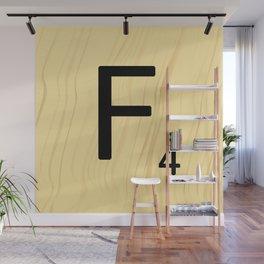 Scrabble F Decor, Scrabble Art, Large Scrabble Prints, Word Art, Accessories, Apparel, Home Decor Wall Mural