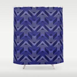 Op Art 99 Shower Curtain