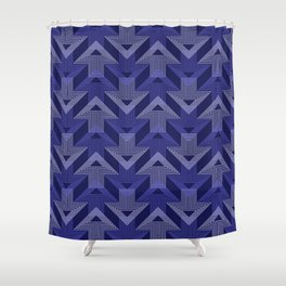 Op Art 99 Shower Curtain