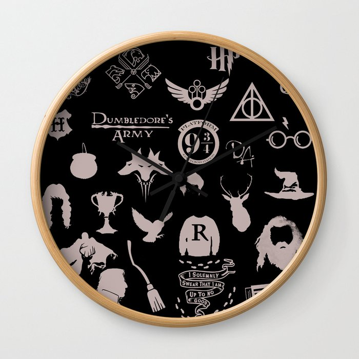 potter's head Wall Clock