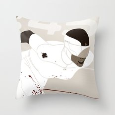 Bloody Skating - Ad Victoriam Throw Pillow