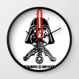 """Vader """"Bones"""" Rodriguez Black Letters Wall Clock"""