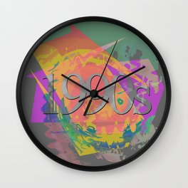 1990s Wall Clock