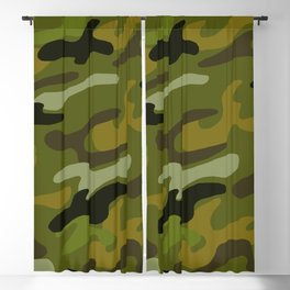 Camouflage 1 Blackout Curtain