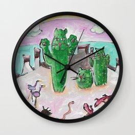 Arizona Cats Wall Clock