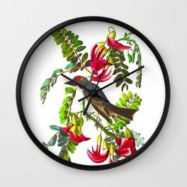 Piping Flycatcher Bird Wall Clock