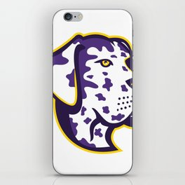 Great Dane Dog Mascot iPhone Skin