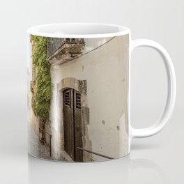 Spanish Street in Altafulla Coffee Mug