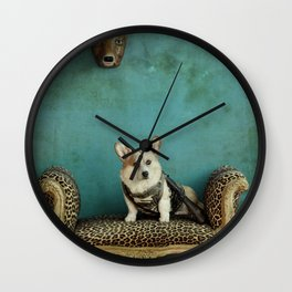 The Deer Hunter Wall Clock