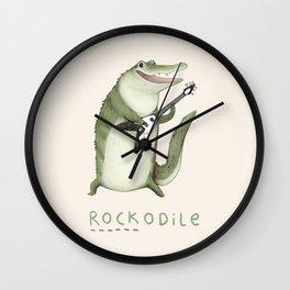 Rockodile Wall Clock