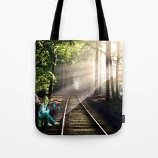 Dream Line Tote Bag