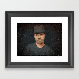 The Tragically Hip's Gord Downie Framed Art Print