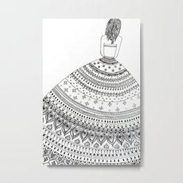 The lost girl Metal Print