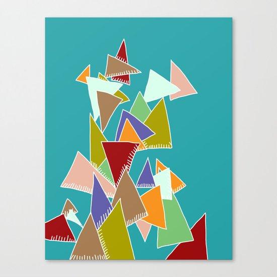 Triads Triads Triads Canvas Print