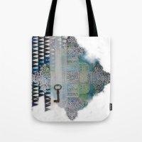 cross Tote Bags featuring Cross by oxana zaika