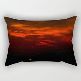 The Hidden Sun Rectangular Pillow