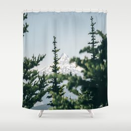 Mount Hood XVI Shower Curtain