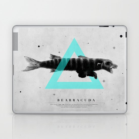 Bearracuda Laptop & iPad Skin