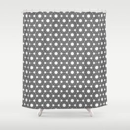 Ethinic Tribal Circles Shower Curtain