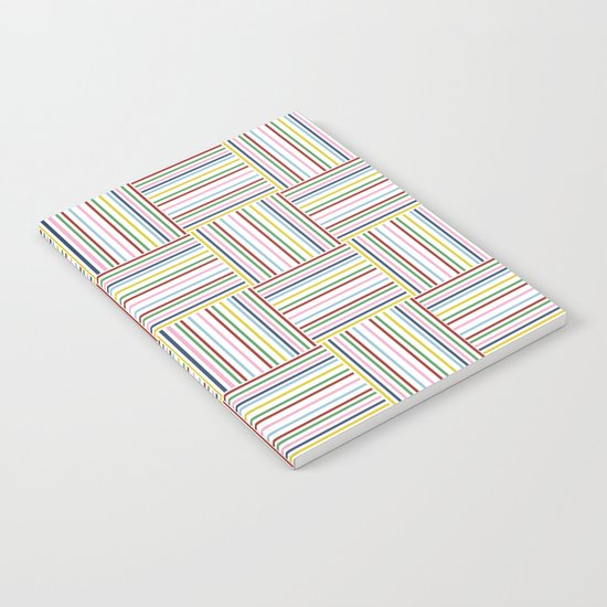 Basket Weave Notebook