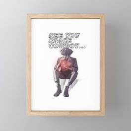 See You... Framed Mini Art Print