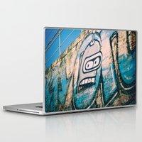 bender Laptop & iPad Skins featuring Bender Bending Rodriguez by grafik ' prod