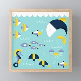 Underwater Framed Mini Art Print