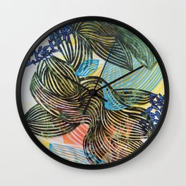 In The Time of Magnetism Wall Clock