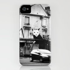 Banksy's rat iPhone (4, 4s) Slim Case