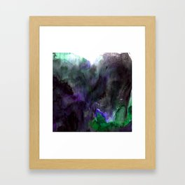 Vellum Bliss No. 7-2G by Kathy Morton Stanion Framed Art Print