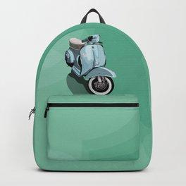 Vespa bluish Backpack