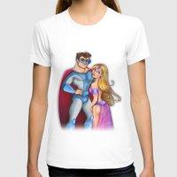 super hero T-shirts featuring Super Hero  by Alex Pedreira